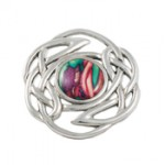 Round Celtic Knot Brooch